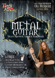 OLI HERBERT FROM ALL THAT REMAINS - METAL GUITAR  Heavy Rhythms, Leads & Harmonies Level One  --  DVD