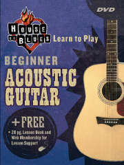 HOUSE OF BLUES - BEGINNER ACOUSTIC GUITAR  House of Blues Learn to Play Series -  DVD  HL14027224