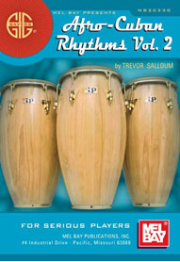 Gig Savers: Afro-Cuban Rhythms Vol. 2 by Trevor Salloum  --  BOOK