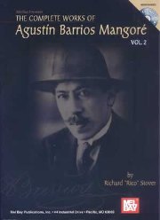 Complete Works of Agustin Barrios Mangore for Guitar Vol. 2 (Book/CD Set)