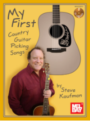 My First Country Guitar Picking Songs Book/CD Set by Steve Kaufman