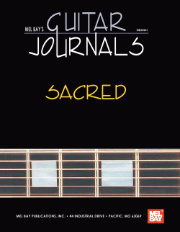Guitar Journals - Sacred by William Bay