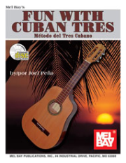 Fun With Cuban Tres Book/CD Set Metodo del Tres Cubano  by Joel Pena  --  BOOK AND CD--ENGLISH AND SPANISH