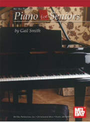 Piano for Seniors by Gail Smith  --  BOOK ONLY