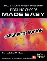 Fiddling Chords Made Easy (Book)  Large Print Edition
