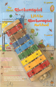My First Glockenspiel-Set 4 Years+ (Book AND GLOCKENSPIEL)
