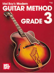 Modern Guitar Method Grade 3 by Mel Bay  --  BOOK AND CD SET