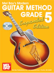 Modern Guitar Method Grade 5, Expanded Edition, Book/2-CD Set  by William Bay