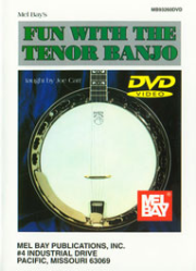 Fun with the Tenor Banjo by Mel Bay --  DVD ONLY --  MB93260DVD,  93260DVD