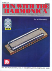 Fun with the Harmonica By William Bay taught by Phil Duncan  --  BOOK, CD AND DVD SET  MB93305SET, 93305SET