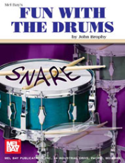 Fun with the Drums by John Brophy  --  BOOK ONLY --  MB93326,   93326