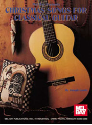 Christmas Songs for Classical Guitar by Joseph Castle  --  BOOK