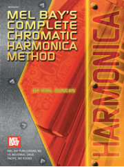 Complete Chromatic Harmonica Method by Phil Duncan  --  BOOK, CD, DVD