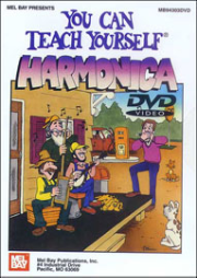 You Can Teach Yourself Harmonica taught by Phil Duncan  --  DVD ONLY