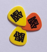 Mel Bay Guitar Pick - Light (Red) Package of 12