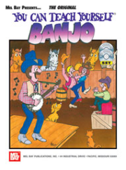 You Can Teach Yourself Banjo by Janet Davis  --   BOOK, CD AND DVD