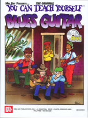 You Can Teach Yourself Blues Guitar by Mike Christiansen  --  BOOK AND CD