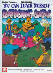 You Can Teach Yourself Flatpicking Guitar by Steve Kaufman  --  BOOK AND CD