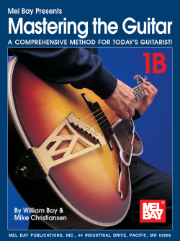 Mastering The Guitar 1B (Spiral) Book/2-CD Set  by William Bay & Mike Christiansen