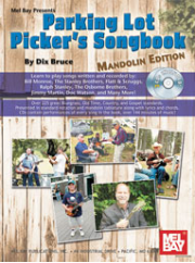 Parking Lot Picker's Songbook - Mandolin Edition   ---  BOOK WITH CD