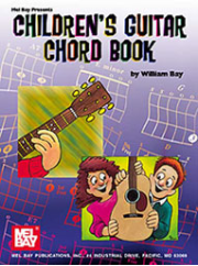 Children's Guitar Chord Book by William Bay --  BOOK
