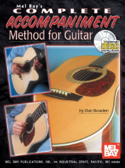 Complete Accompaniment Method for Guitar Book/CD Set  by Dan Bowden