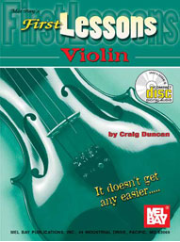 First Lessons Violin by Craig Duncan --  BOOK AND CD