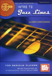 Gig Savers: Intro to Jazz Lines For Serious Players  by Corey Christiansen  --  BOOK
