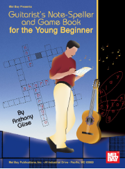 Guitarist's Note-Speller and Game Book for the Young Beginner