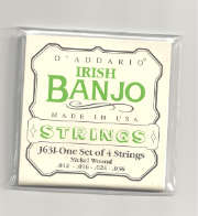 J63i Irish Tenor Banjo, Nickel, 12-36