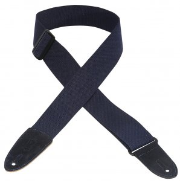 LEVY'S  COTTON GUITAR STRAP MC8 STRAP  MC8-NAV