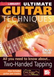 Ultimate Guitar Techniques: Two-Handed Tapping DVD by Stuart Bull  --  DVD