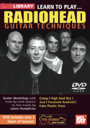 Learn to Play Radiohead DVD by Jamie Humphries --  DVD
