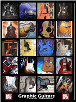 Graphic Guitars Poster by Paul Chase  --  POSTER / WALL CHART