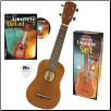 Complete Ukulele Set  --  UKE, BOOK, CD and PICK