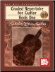 Graded Repertoire for Guitar, Book One AND BOOK TWO by Stanley Yates   --  TWO BOOKS AND ONE CD (SKU: MB99630COMBO)
