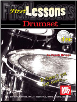 First Lessons Drumset by Frank Briggs   --  BOOK AND CD