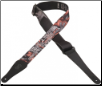 "GUITAR STRAP BY LEVY'S --  2"" POLYESTER STRAP -- BEATLES COLLECTION --  MPL2-011  GET BACK"