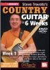 Steve Trovato's Country Guitar in 6 Weeks: Weeks 1-6 -- COMPLETE SIX DVD SET