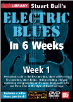 Stuart Bull's Electric Blues In 6 Weeks --  ALL SIX DVD'S