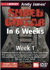 Andy James Shred Guitar in 6 Weeks: Week 1 DVD ---  DVD