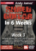 Andy James Shred Guitar in 6 Weeks: Week 3 DVD ---  DVD