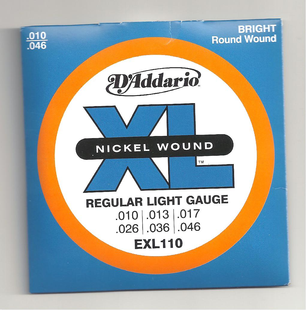 click to enlarge image s d addario exl110 nickel wound electric guitar ...